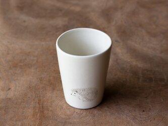 粉引フリーカップ(ハリネズミ)の画像