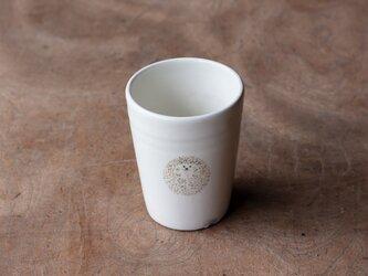 粉引フリーカップ(ハリネズミ丸)の画像
