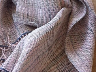 【手織り】リネンのストール#04の画像