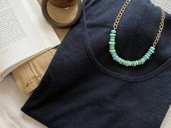 Statement Necklace:Turquoiseの画像
