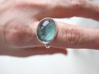 ブルージョンの蛍 フローライト ringの画像