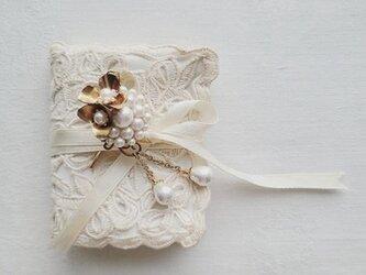 ◇ヘッドドレス◇◇limited◇◇*vintage*/コットンパール×brass*le bouquet*の画像