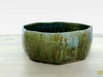 織部六角鉢の画像