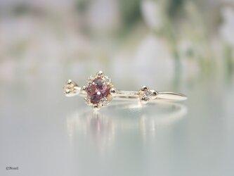 ブルーム リング ピンクバイオレットサファイア(Bloom Ring)の画像
