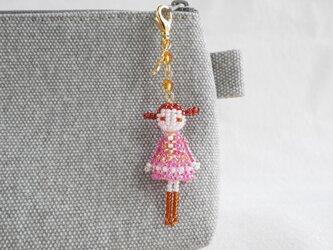 ファスナーチャーム [リリィ] ビーズドール・マスコット・人形の画像