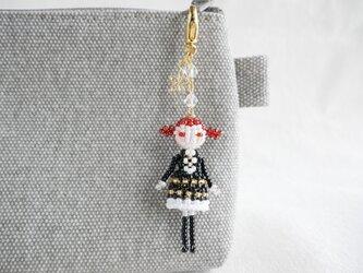 ファスナーチャーム [ヘレナ] ビーズドール・マスコット・人形の画像