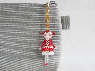 ファスナーチャーム [マリー] ビーズドール・マスコット・人形の画像