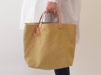 手染め帆布トートバッグMサイズ □承和色(そがいろ)□の画像