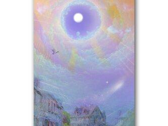 「ファンタジア『百夜』」 ほっこり癒しのイラストポストカード2枚組 No.1072の画像