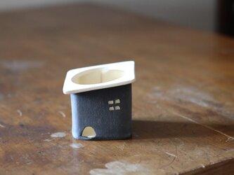 おうちの植木鉢(小)黒の画像