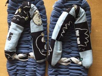 布ぞうり 子供用(20cmくらい)の画像