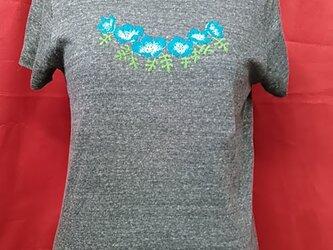 花柄レディースtシャツの画像