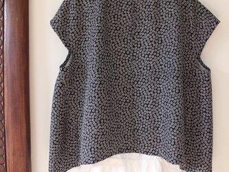 黒★着物用絹100%  3wayブラウス★一枚限定の画像