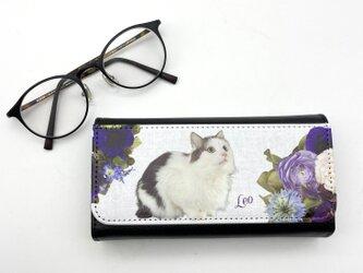 世界にひとつ うちの子 オーダーメイド メガネケース 親ばか 眼鏡入れ 犬 猫 眼鏡ケース 写真 ペットの画像