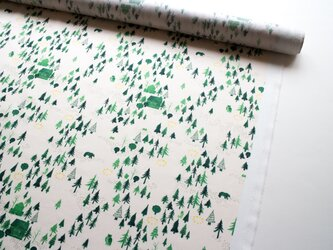 測り売り ・おもいでの森  / 40番手ツイルの画像