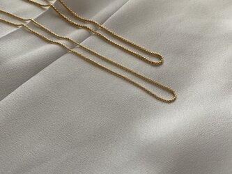 14kgf 【Round Venetian】Chain Necklaces 1.0の画像