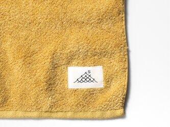 ハンドタオル/黄蘗色(草木染め)の画像
