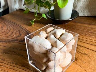 木製ブロックパズルの画像