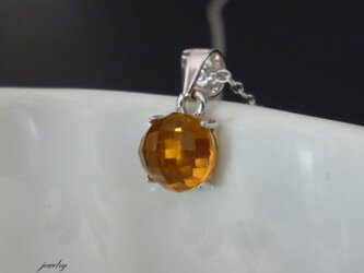 Candy necklace - citrine #6の画像