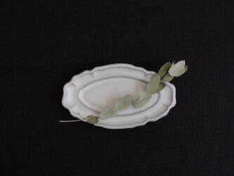 fleur オーヴァル皿 12cmの画像
