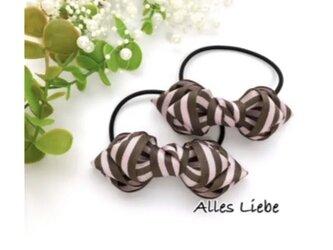 【Alles Liebe】No.28 twistゴム(ピンクカラー) の画像