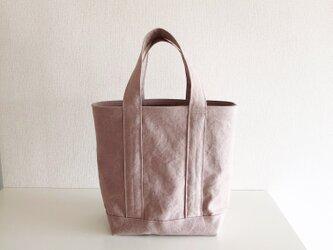 TOTE BAG (L) / pinkbeigeの画像