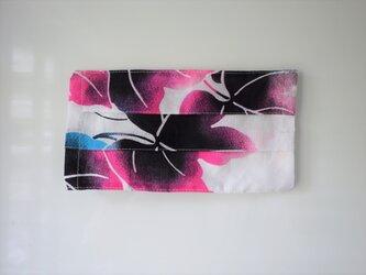 プリーツマスクカバー 浴衣ブドウの画像