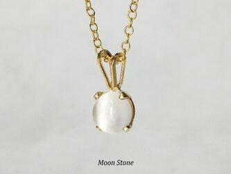 【6月誕生石】月の光。ムーンストーン・ネックレス [送料無料]の画像