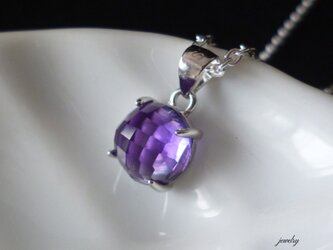 Candy necklace - amethyst #8の画像