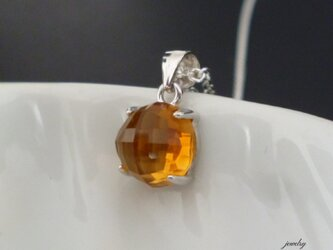 Candy necklace - citrine #8の画像