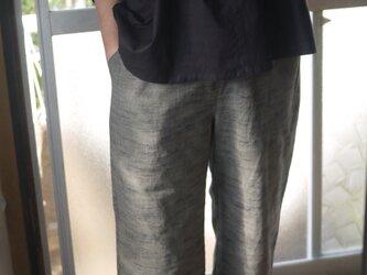 着物裏地ふんわり袖トップスの画像