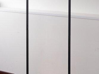 Factory Black Hanger Rack W60の画像