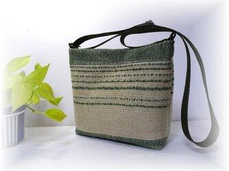 麻糸で織った夏バッグ B-139の画像