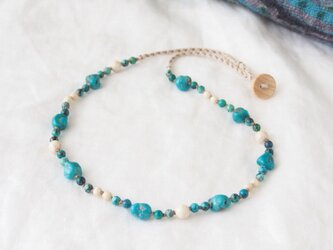 Blue Nature(necklace)の画像
