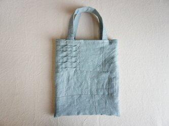 小さな布たちの小さなリネンバッグ No.2の画像