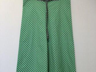 Mint green ワイドパンツ の画像