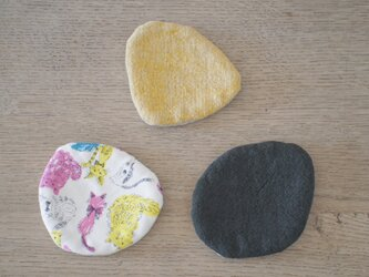 リネンコースター stoneの画像