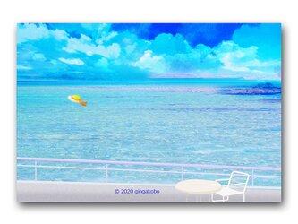 「ちょっと休息^^」 ほっこり癒しのイラストポストカード2枚組 No.1076の画像