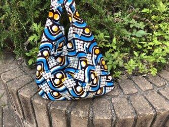 b378-アフリカ布ecoバッグの画像