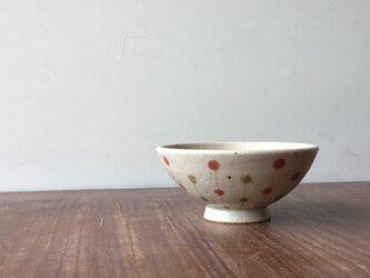 小茶碗 玉つなぎ 赤の画像