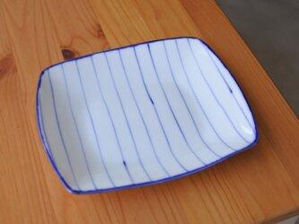 gosu 太いストライプのお皿の画像