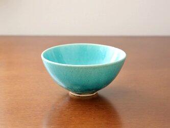 トルコ青釉の飯碗 * 3の画像