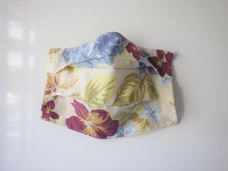 プリーツマスクカバー エンジのお花の画像