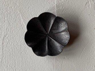 灰釉 たれ皿  7弁輪花の画像