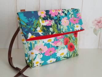 【再販】ART GALLERY FABRICS Mother's Garden Rich ショルダーバッグの画像