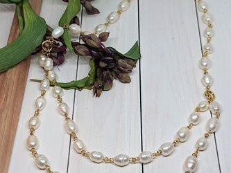 白浜木綿     (淡水パールのNecklace)の画像