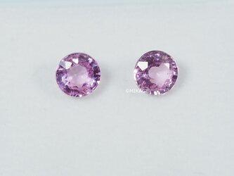 天然石ピンクサファイアのルースストーン (Pink Sapphire Loose Stone)の画像