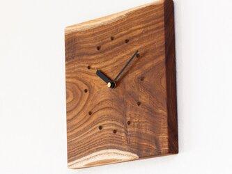 エンジュの壁掛け時計5の画像
