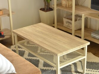 Vintage Center Table 90 / WHの画像