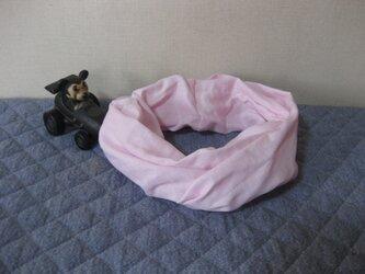 ダブルガーゼスヌード《パステルピンク・一重》の画像
